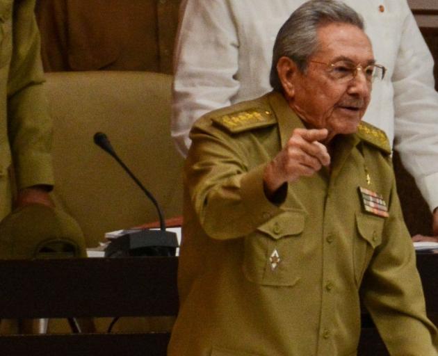 Leadership change in Cuba