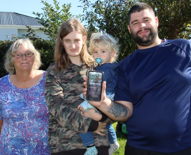 Wyndham man Isaac McCallum, who suffered a serious head injury in a crash last year, has an app...