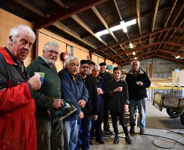 Invercargill MenzShed members are making the move to their new premises in Liddel St. Among them...