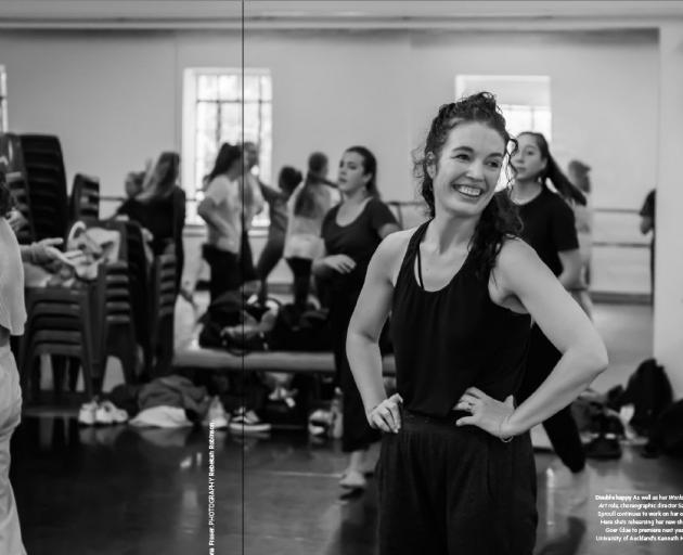 Former Dunedin dancer and now choreographer Sarah Foster-Sproull. PHOTO: REBEKAH ROBINSON