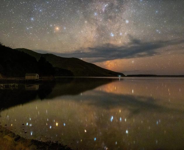 Scorpius rising at Hoopers Inlet, Otago Peninsula. PHOTO: IAN GRIFFIN