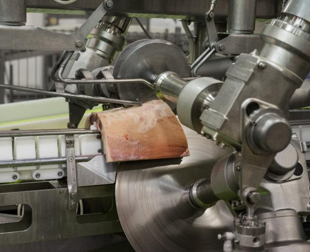High-tech Scott Technology uses X-ray and vision technology in its lamb-boning systems. PHOTO:...