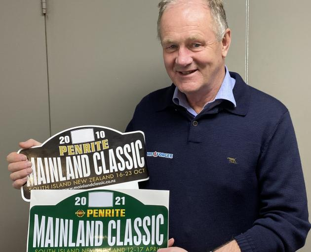 Autumn Colours Outing and Penrite Mainland Classic Tour co-organiser David Mehrtens, pictured...