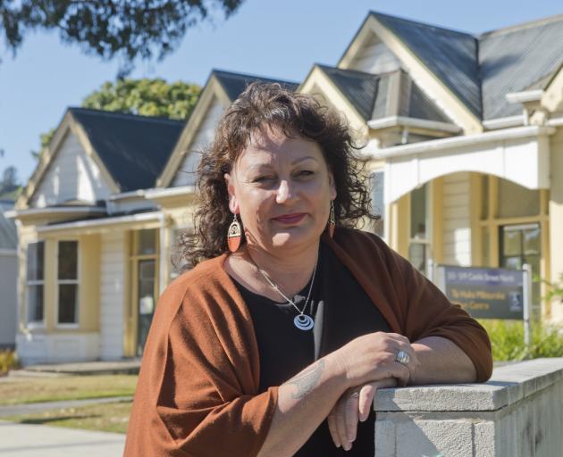 Michelle Taiaroa-McDonald, manager of the University of Otago Maori Centre Te Huka Matauraka....