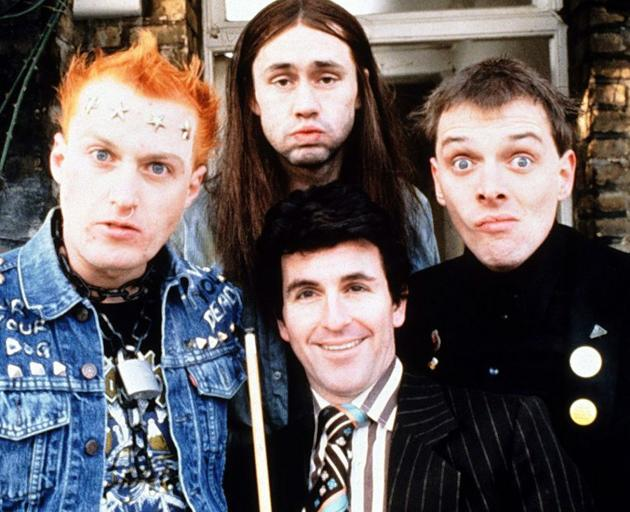 The Young Ones (clockwise from left):  Vyvyan, Neil, Rick and Mike. Photo: supplied