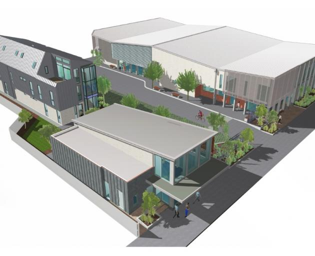 An artist's impression of the planned new facility. Image: Christchurch City Mission