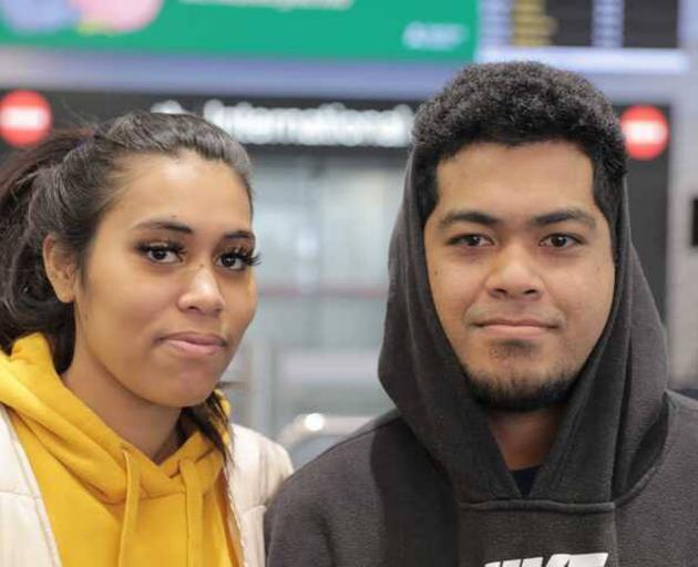 Auilagi Vaifale and Seamus Matamua. Photo: NZ Herald