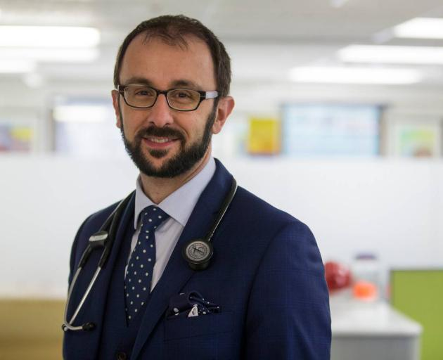 Top oncologist and medical director at Cancer Society of New Zealand Chris Jackson. Photo: Supplied