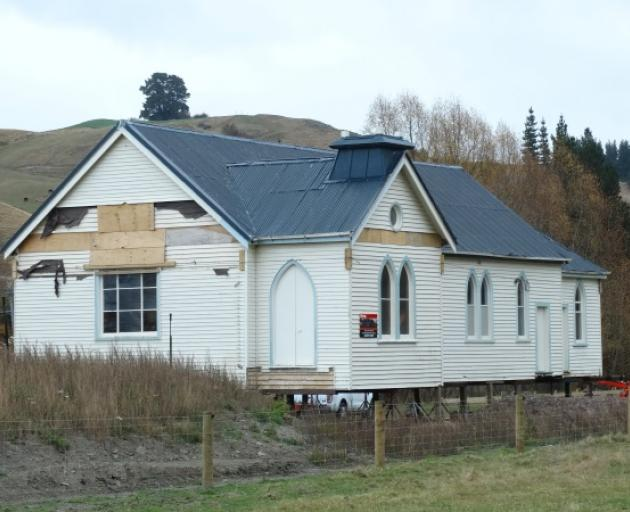 A former Southland church will soon be home to a Queenstown town planning business. Photo: Mountain Scene