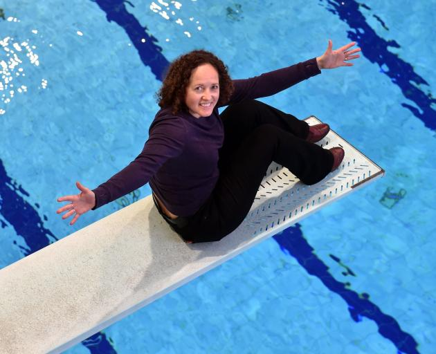 Diving Otakou committee member Alison Derbyshire asked for dry diving training space to be added...