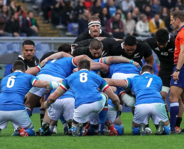 Italy will no longer tour New Zealand this year. Photo: Getty Images