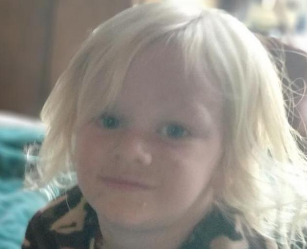 Axel has been missing since yesterday afternoon. Photo: NZ Police