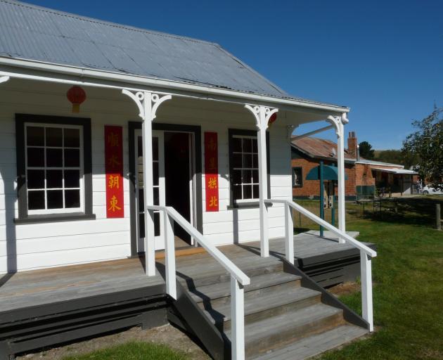 The camp's recently restored Poon Fah house. PHOTO: RICHARD DAVISON