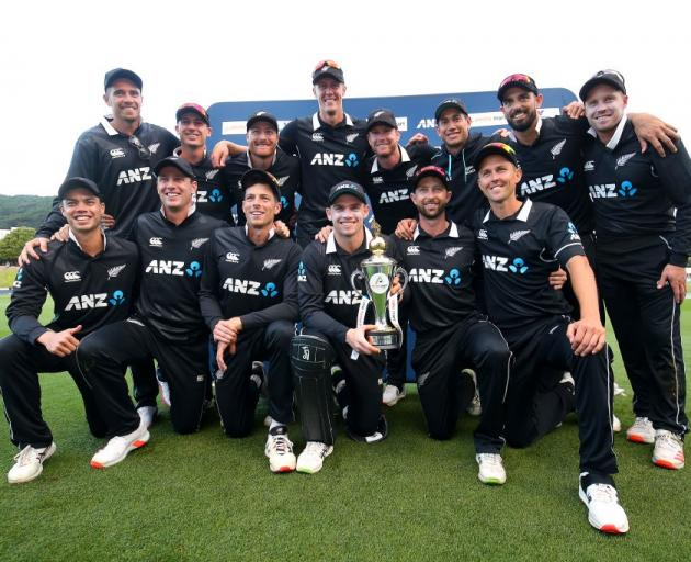 The Black Caps are now the No1 ranked ODI side in the world. Photo: Getty Images