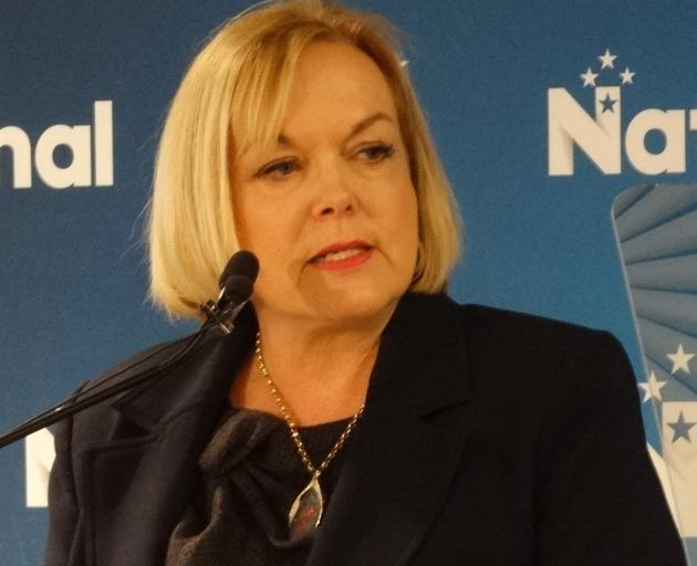 National leader Judith Collins told a party regional conference in Queenstown at the weekend the...