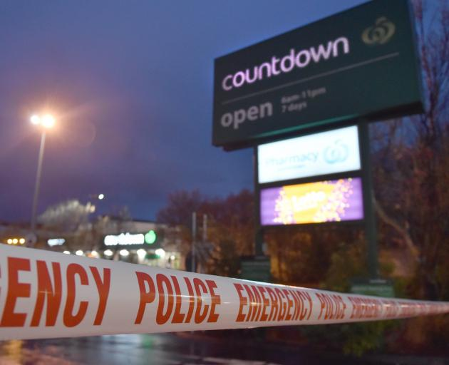 Countdown Dunedin Central will remain closed today. PHOTO: GREGOR RICHARDSON