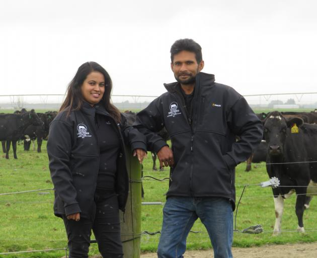 Dairy farmers Nadeeka and Dinuka Gamage love being their own bosses and working outdoors with...