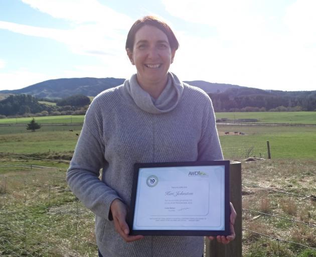 Keri Johnston completed the Escalator leadership programme through the Agri-Women's Development...