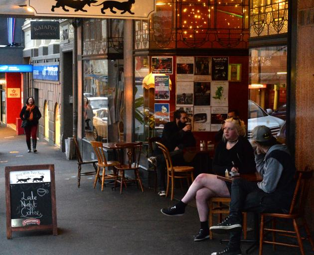 Landlords say their tenants were affected by excessive noise from the Dog With Two Tails cafe and...