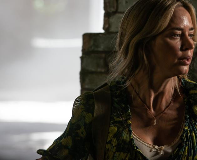 Evelyn (Emily Blunt) braves the unknown in A Quiet Place Part II.PHOTOS: TNS