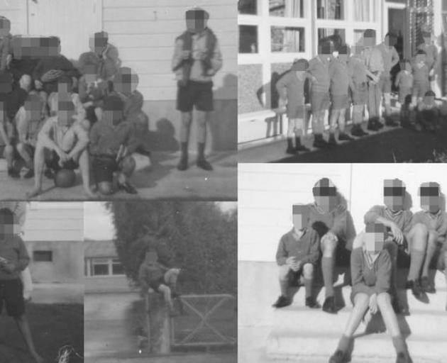 A compilation of photos taken at Epuni Boys' Home. Photo: Supplied via RNZ