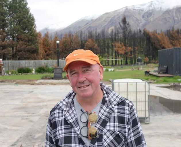 Lake Ohau resident Hugh Spiers has lodged a resource consent with the Waitaki District Council...