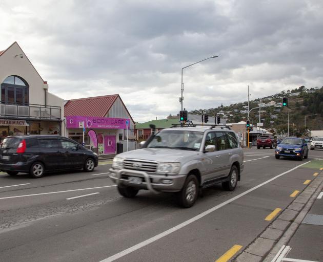 Traffic on Main Rd in Redcliffs. Photo: Geoff Sloan