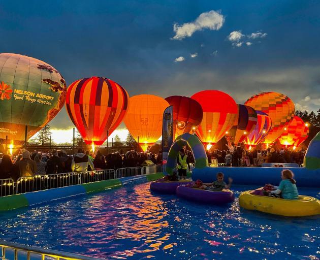The Hororata Glow Festival. Photo: Event Hire
