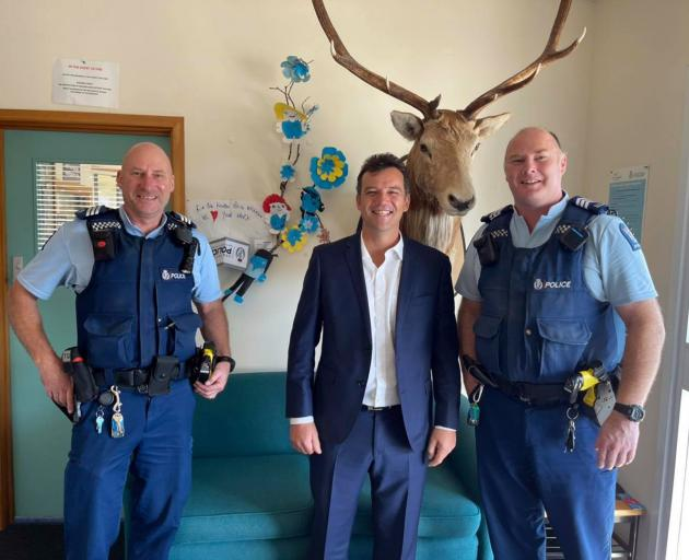 Southland MP Joseph Mooney and friends. PHOTO: FACEBOOK