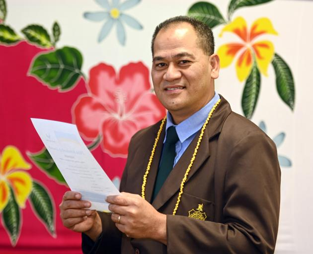 The Rev Latuivai Kioa Latu proposed a new Pasifika community hub at the Dunedin City Council 10...