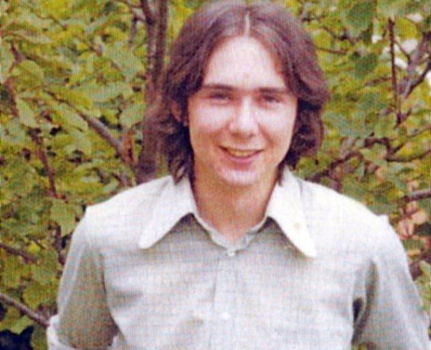 Michael Dudley went missing from Dunedin on the night of April 3, 1978. PHOTO: NEW ZEALAND POLICE