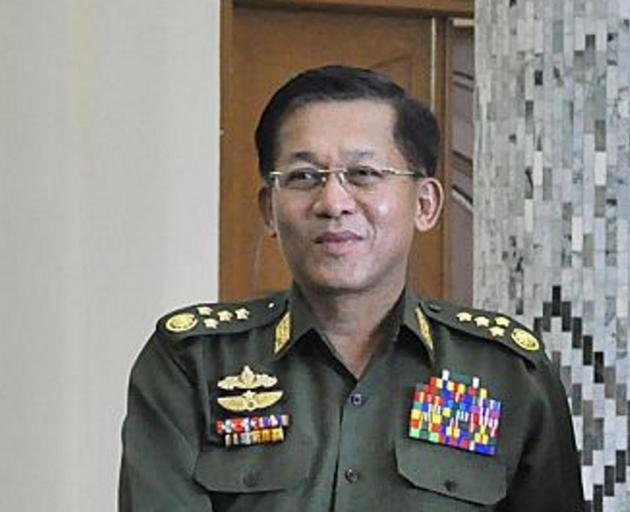 Myanmar's Commander-in-Chief Senior General Min Aung Hlaing. Photo: Getty Images