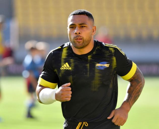 Hurricanes and All Blacks second five-eighth Ngani Laumape is heading to France. Photo: Getty Images