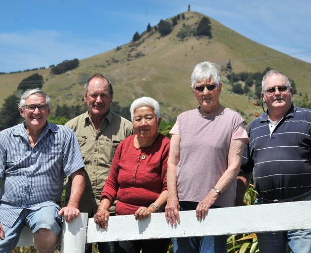 Lions Club members (from left) Sandy Sandford, Ron Sheat, Vonnie Sandford, Eileen Birtwistle and...
