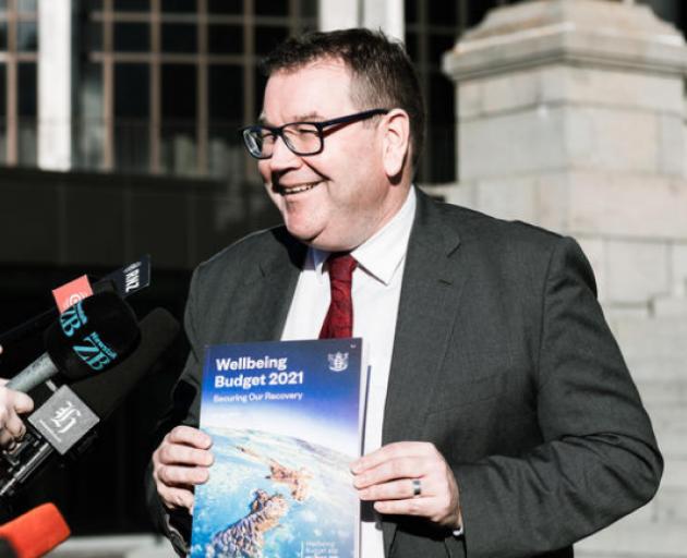 Finance Minister Grant Robertson. Photo: RNZ