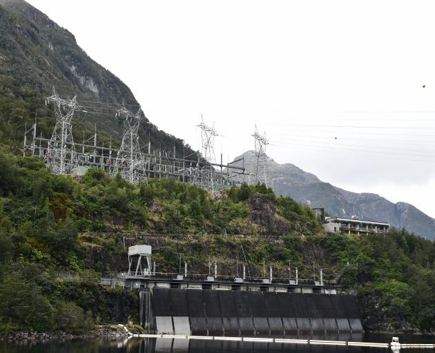 The Manapouri power station is at Lake Manapouri's West Arm in Fiordland National Park. It has...