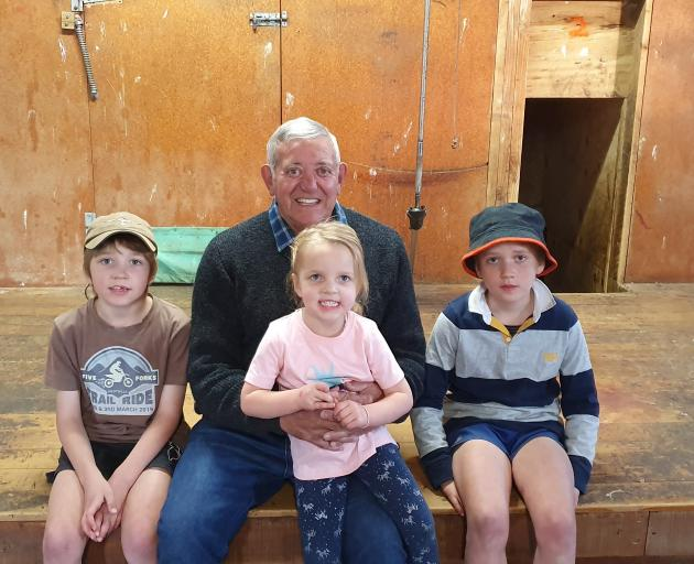 Retired shearing contractor Owen Rowland is looking forward to spending more time with family. He...