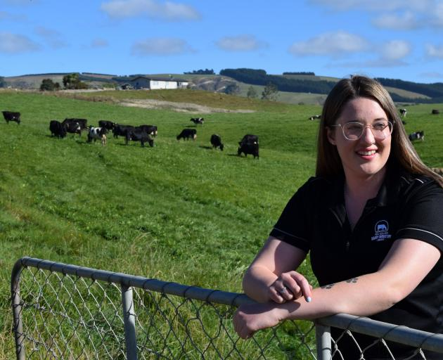 Southland-Otago Dairy Trainee of the Year Sophie White has no regrets leaving school to work in...
