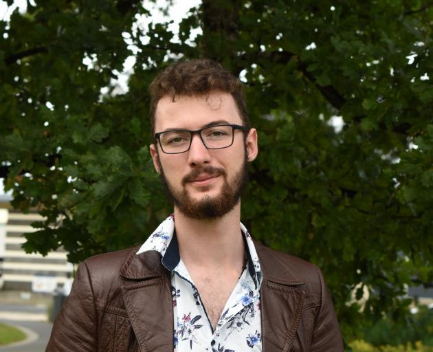 University of Otago Theatre Studies student and keen Taieri Dramatic Society member Zac Henry...