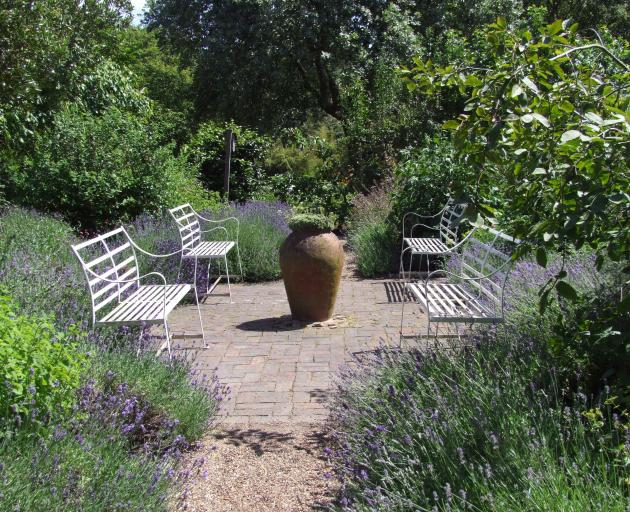 With a bit of tweaking, such as replacing the paving, this lavender garden could be up with the...
