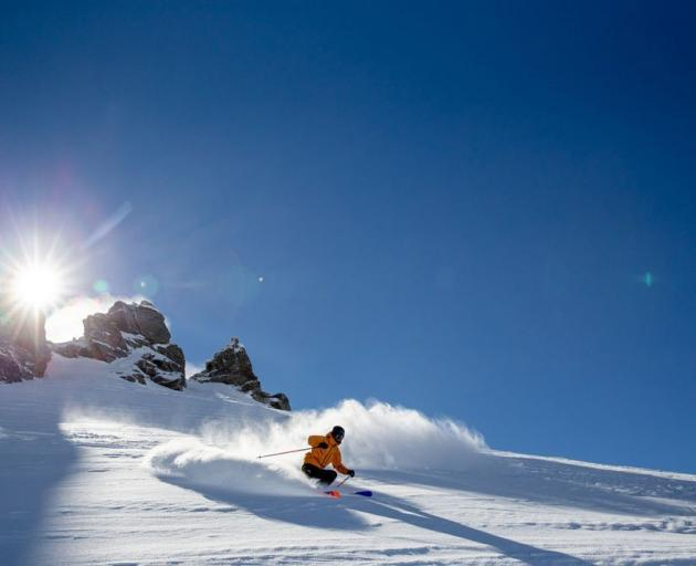 Treble Cone is known for its long, steep, uncrowded runs. Photo: Treble Cone