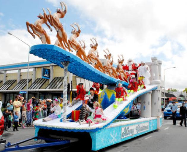 The Santa parade has been cancelled again. Photo: File