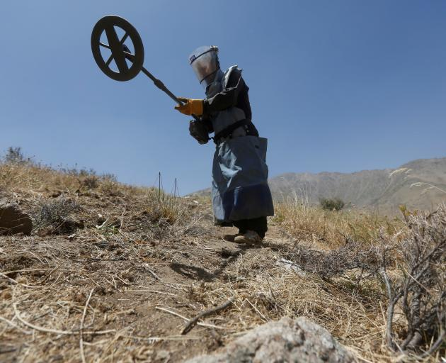 After decades of conflict, Afghanistan is strewn with mines and unexploded ordnance and agencies...