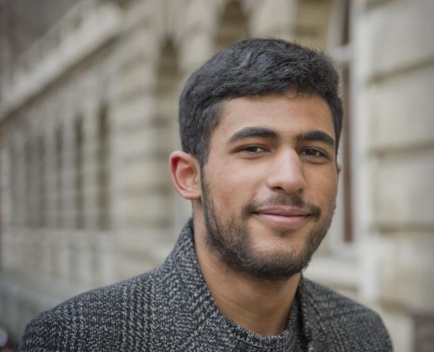 Former refugee and now Dunedin medical student Ahmed Abusaleeq. PHOTO: GERARD O'BRIEN