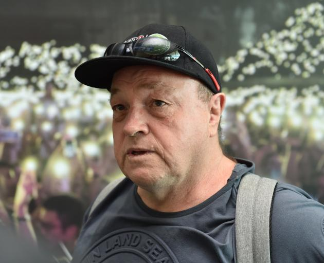 Arthur Taylor's biography is due to be released in August but faces legal hurdles. PHOTO: ODT...