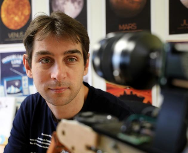 Matthieu Pluvinage has his sights on space. Photo: Reuters