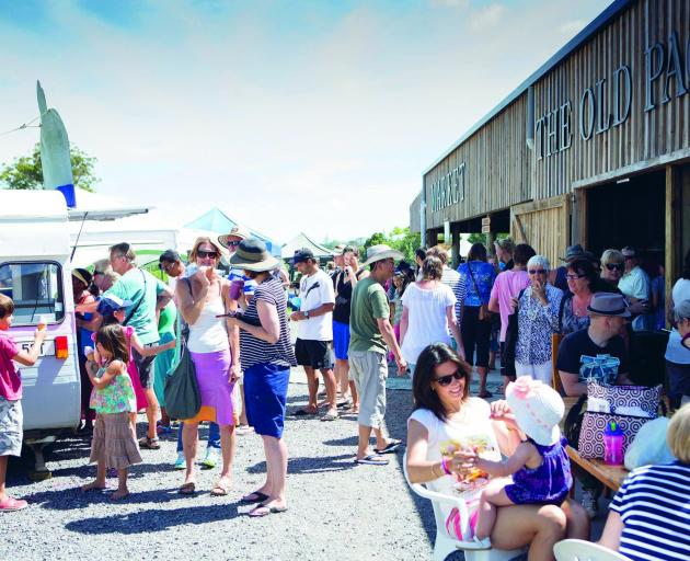 There's a variety of  local wines, craft beers, baked treats and  gourmet street food to try at...