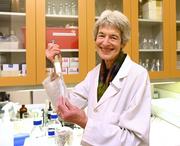 Dame Carolyn Burns, of the University of Otago zoology department. PHOTO: LINDA ROBERTSON