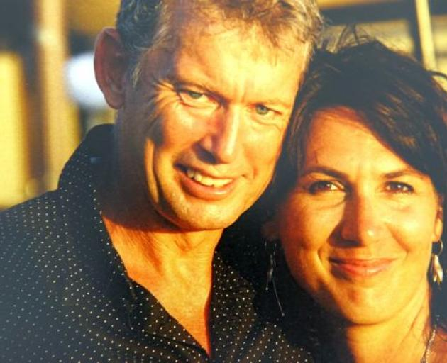 Jerome and Adelle Box. Jerome died in the 2014 Mount Alta helicopter crash Photo: Supplied