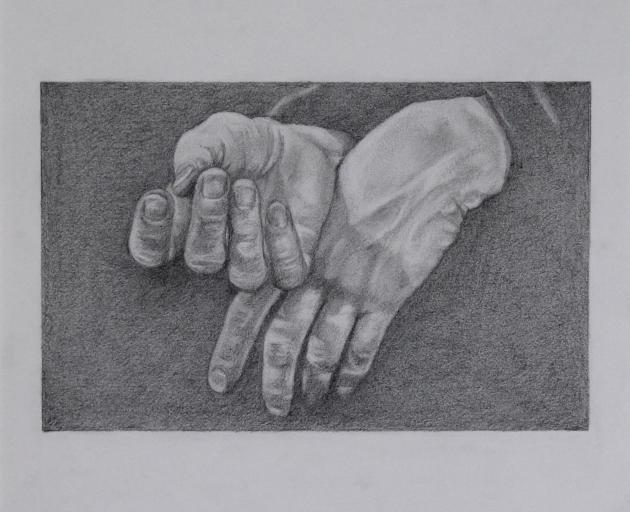 Pencil drawing by Emma Howlett. PHOTO: SUPPLIED